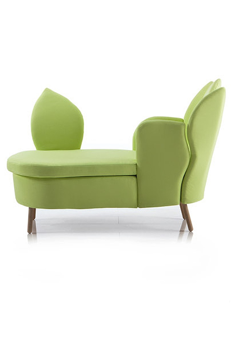 'morning dew' chaise side view by Brhl - this is really cute - http