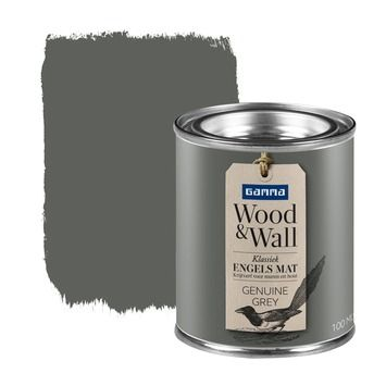 GAMMA Wood&Wall krijtverf Genuine Grey 100 ml in de beste prijs-/kwaliteitsverhouding, volop keuze bij GAMMA