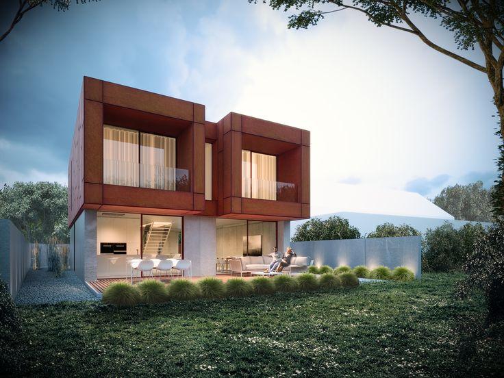 Maison unifamiliale. Architecte: Groupe Gamma. Image: www.perspectif.be