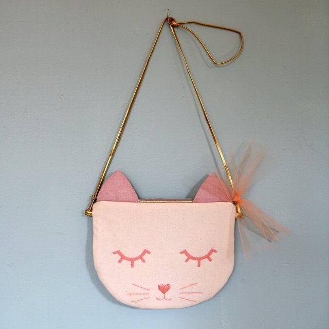 Pochette tete de chat le moelleux by elsa