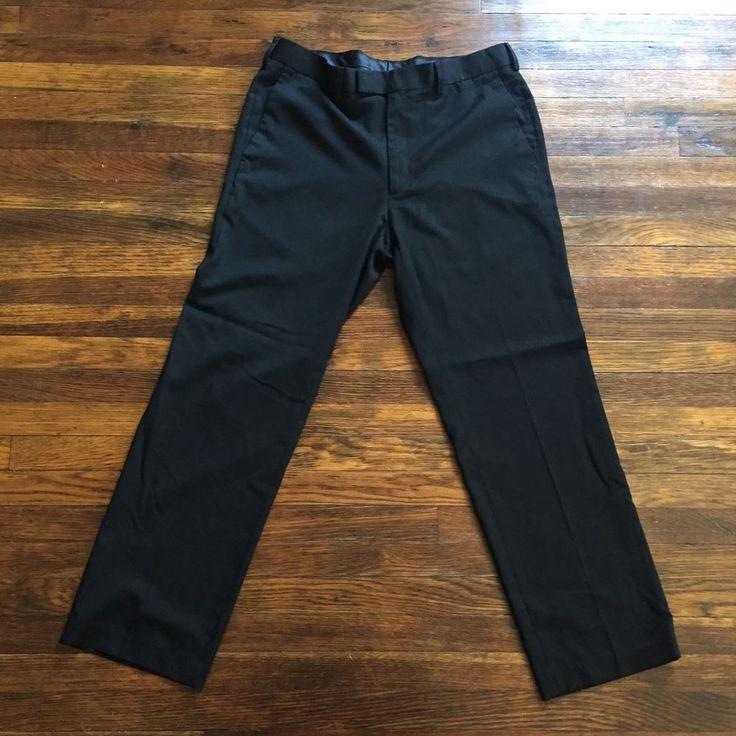 Perry Ellis Portfolio Men's Dress Pants, Size 34x30 #PerryEllis #DressFlatFront