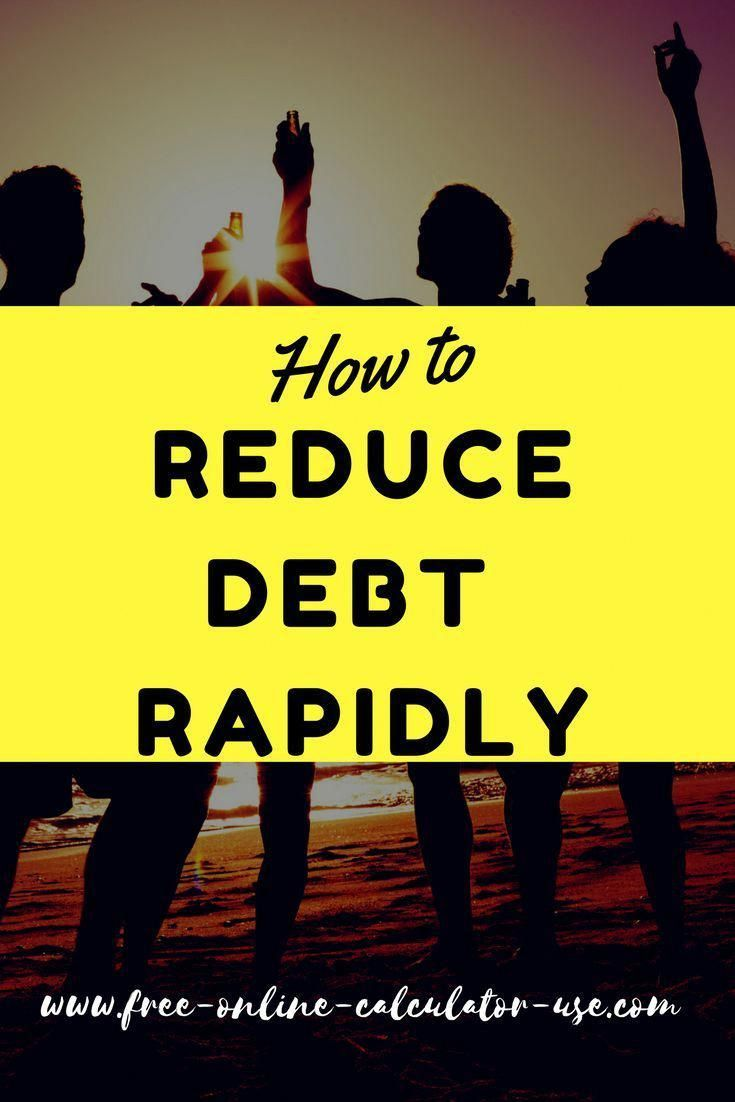 rapid debt reduction calculator with amazing rollover