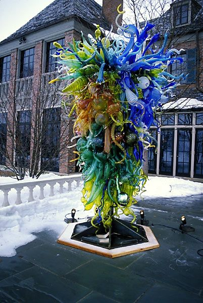 Passiflora Multifasciata Tower-Pillsbury Mansion Minnesota-Dale Chihuly.: Chihuly Glasses, Minnesota, Towers, Pillsbury, Dale Chihuly Passiflora, Glasses Artists, Glasses Chihuly, Mansions, Art Glasses