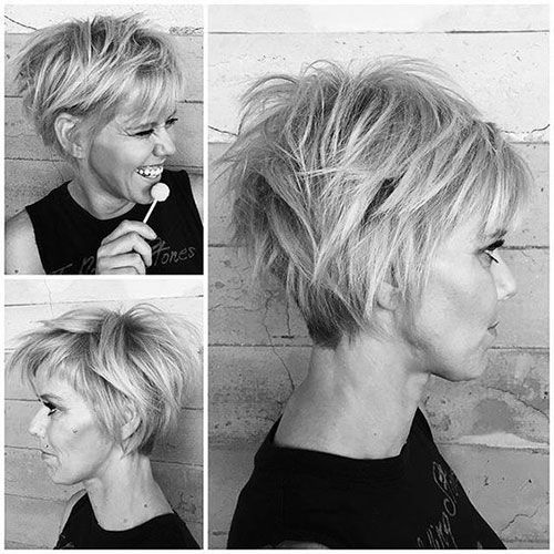 Pixie cuts are one of the most popular and fashionable in the last years. Most women hesitate but pixie will give you a different vibe and make you attractive