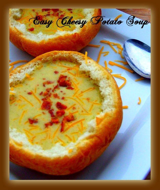 Easy Cheesy Potato Soup!