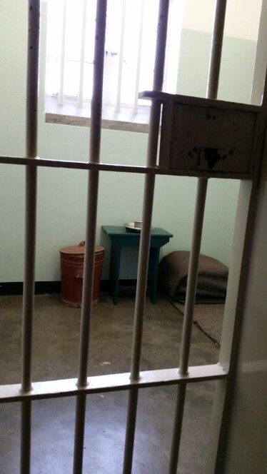 Mr. Nelson Mandel's cell on Robben Island
