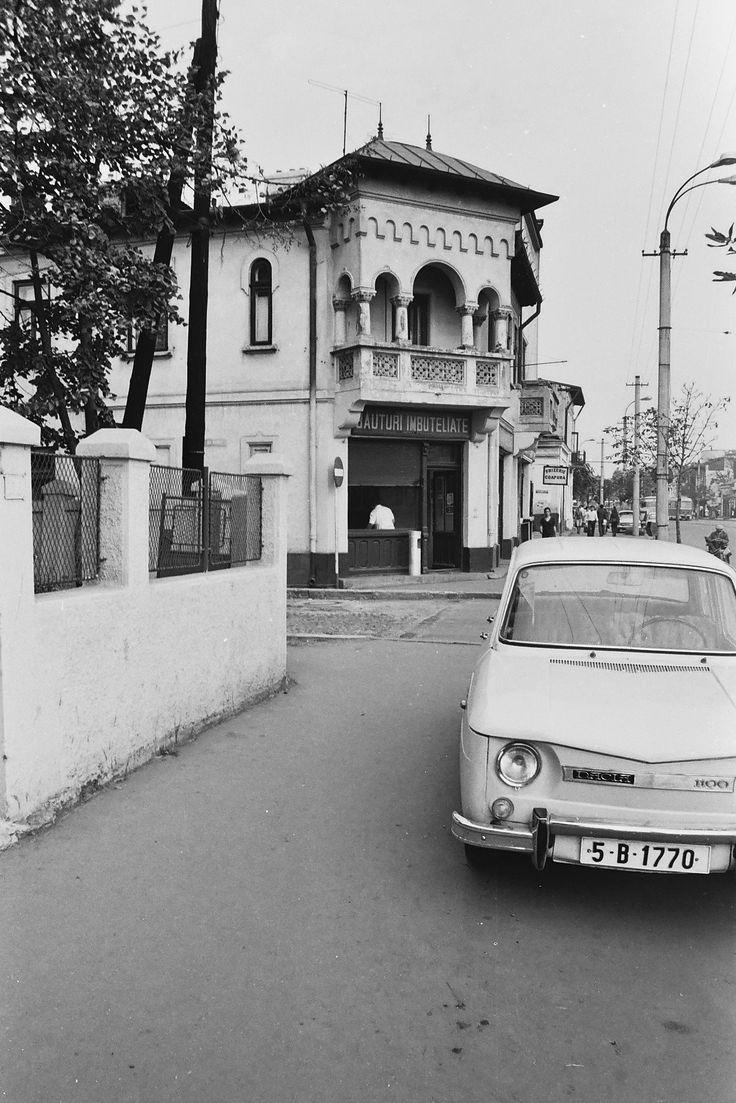 Bucurestiul de altadata: Calea Rahovei - 1978. Calea Rahovei colt cu strada Raditei.