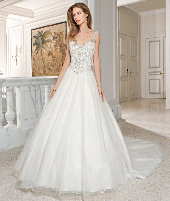 24 best Demetrios Couture Collection images on Pinterest | Wedding ...