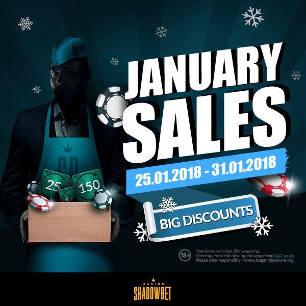 ShadowBet Casino January Promotion