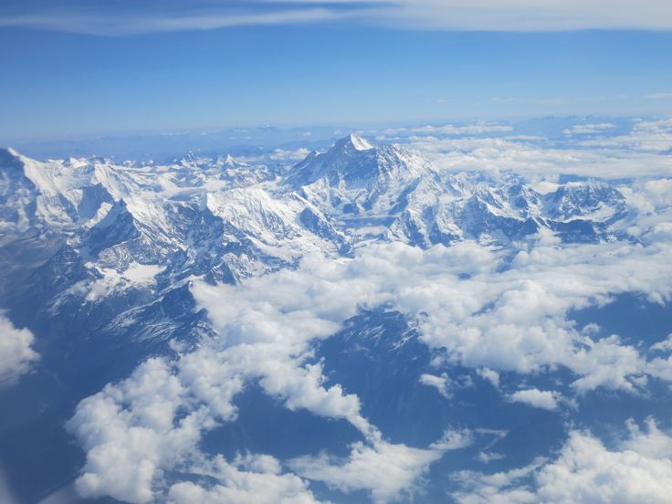 The Himalayas (fr the plane)