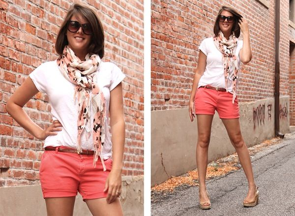 summer scarf fashion | summer scarves How to Wear a Summer Scarf.  >>that's just cute!