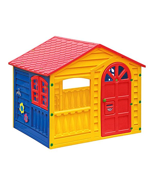 Look at this Happy Children's Playhouse on #zulily today!