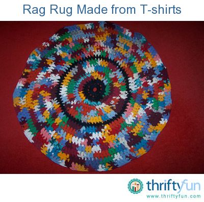 Making A Rag Rug Tee Shirt Rug Homemade Rugs Rugs