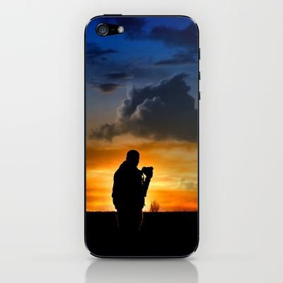 The Hunter iPhone & iPod Skin by unaciertamirada - $15.00