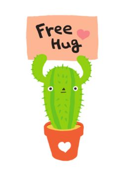 Free Hugs from cactus