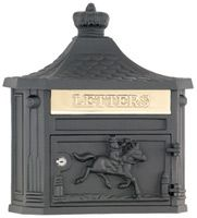 AMCO Victorian Wall Mount Victorian Mailboxes