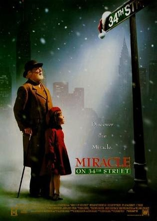 Miracle on 34th Street - Our Christmas Eve tradition. Love this movie and it's message!!