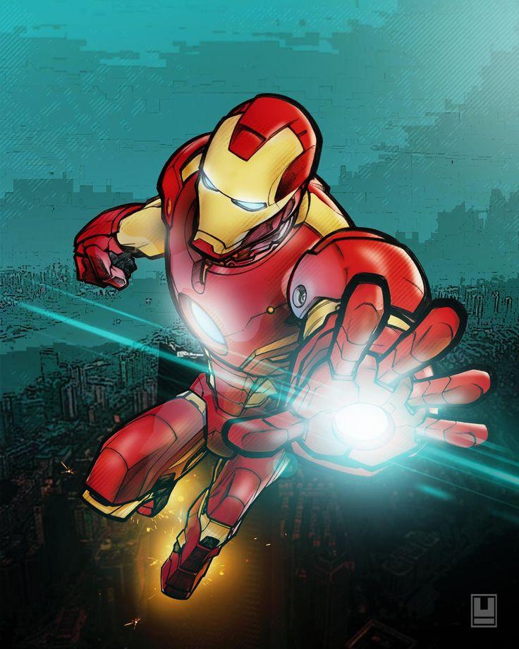 Iron-MAn By UlayArt On DeviantArt In 2020