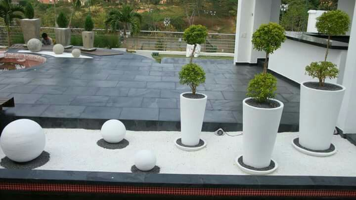Jardin moderno