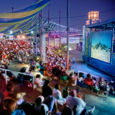 Screenings Under The Stars - Summer Movie Series shows different movies every Thursday night in July and August