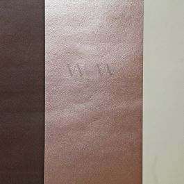 Stripe Wallpaper Chocolate, Copper & Taupe Direct Wallpapers E40938  This stylish yet simple Stripe Wallpaper features a wide stripe design in complimentary tones of taupe, copper and chocolate brown, with contrasting matte and metallic finishes for a contemporary feel. Easy to apply, this high quality lightly textured wallpaper would look great when used for a feature wall or to decorate a whole room and can be hung either vertically or horizontally.  A stylish stripe design wallpaper Fe...