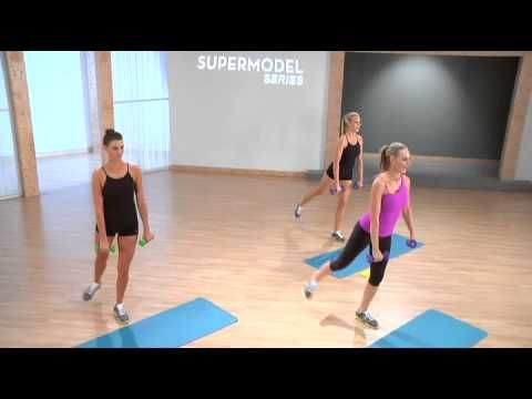 Heidi Klum's workout by celebrity trainer Andrea Orbeck 1
