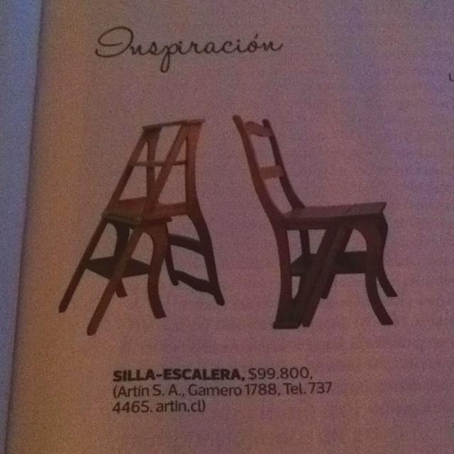 Silla escalera plegable pinterest escalera sillas y for Silla escalera plegable planos