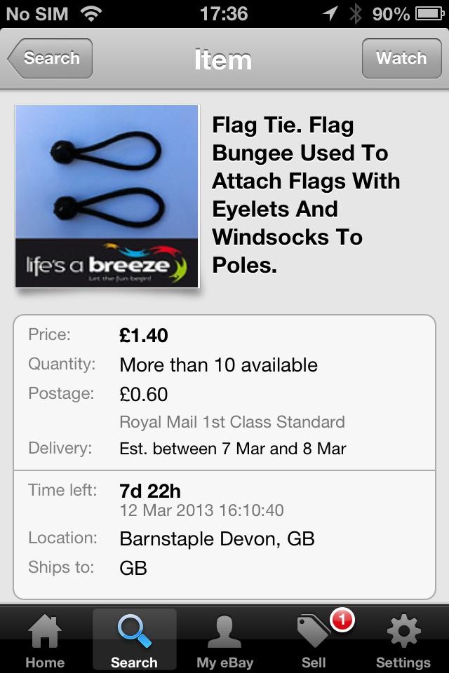 flag pole parts