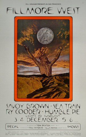 Savoy Brown Poster - Rock poster  concert