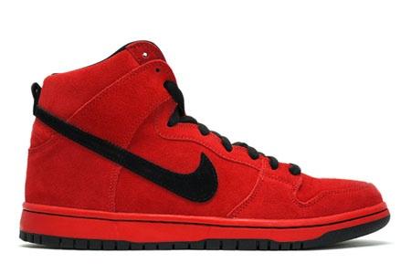 Nike Dunk High Pro Sport Red/Black