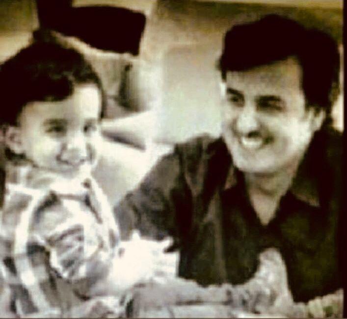 His Highness Sheikh Tamim Bin Hamad Al Thani With His First Child Hamad Doha Qatar Children Qatar Historical Figures