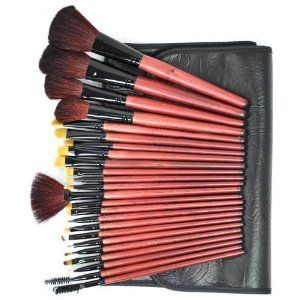 Pure Black - Makeup Brushes x 24 pcs CODE: #251 by Beauties Factory. $35.99. Package Include: 24 pieces of High Quality Makeup Brushes Set with Pure Black Bag Design holder bag -Large Powder Brush -Medium Powder Brush -Small Powder Brush -Round Shadow Brush #1 -Round Shadow Brush #2 -Round Shadow Brush #3 -Round Shadow Brush #4 -Round Shadow Brush #5 -Round Shadow Brush #6 -Round Shadow Brush #7 -Round Shadow Brush #8 -Round Shadow Brush #9 -Round Shadow Brush #10 -Round...