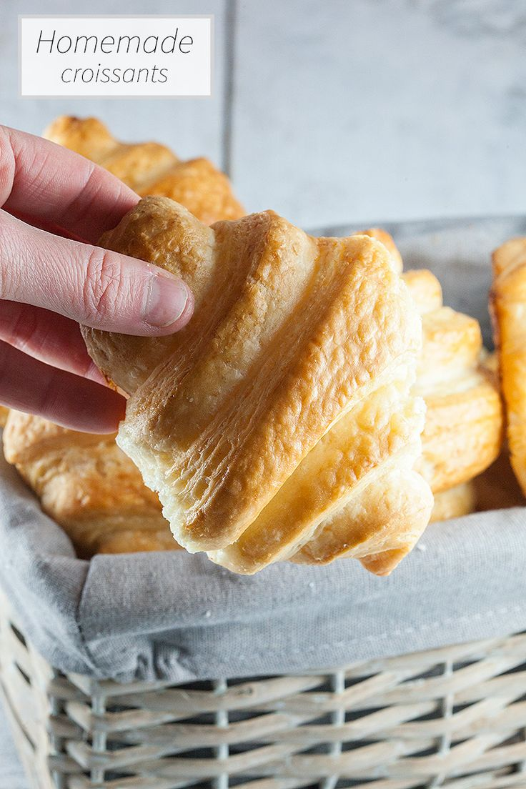 Oh my! Have you ever thought about making your own croissants? Homemade croissants are worth every second, so fluffy and made with love.
