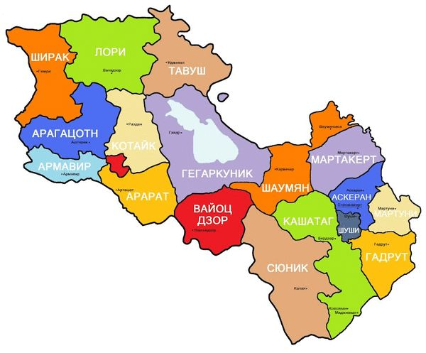 Best Real Maps Of Armenia Karabakh Images On Pinterest - Armenia map