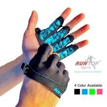 RUNTOP Silicone Crossfit Glove Women Workout Fitness GYM Exercise Weight Lifting Bodybuilding Training Hand Grips Palm Protector(China (Mainland))