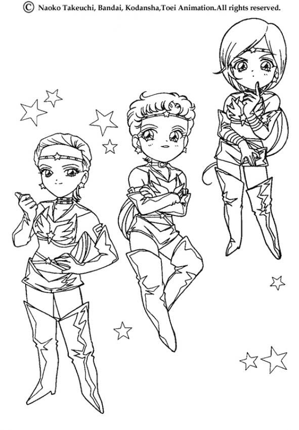 Little Sailor Warriors Coloring Page. If You Like The Little Sailor  Warriors Coloring Page, You Will Find So Much More Coloring Sheets For Free!