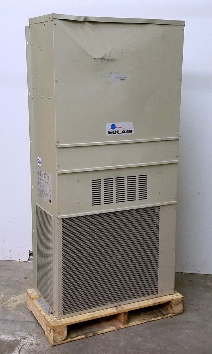 SOLAIR 2 TON VERTICAL WALL MOUNT AIR CONDITIONER 208/230V 1PH - NEW #365