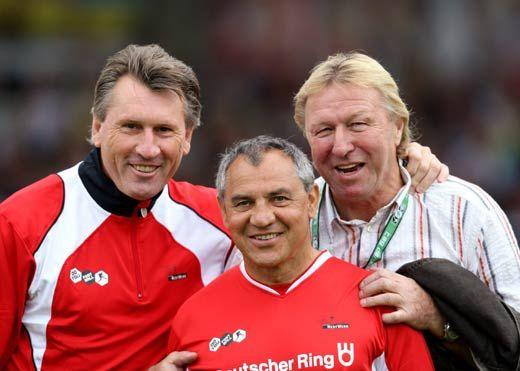 DIE DREI DER GOLDENE ÄRA  Zum 5. Mal treffen sich die Fußball-Helden am 6. September 2009 im Stadion am Millerntor. ... nur der HSV !!