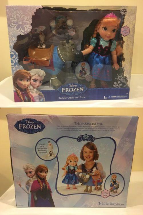 Cinderella 44034: Disney Princess Anna Sven Olaf Toddler Doll Set Nib Rare -> BUY IT NOW ONLY: $69.99 on eBay!