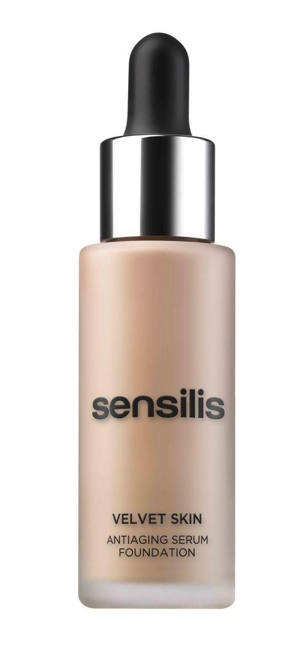 Es un dos en uno... #serum #antiage y base de #maquillaje... es el #VelvetSkin de #Sensilis