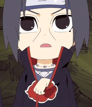 Man this made me love Itachi even more! I mean look at that cute little baby face!! It's so adorable!!
