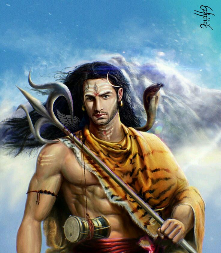 """▓ सत्यम शिवम सुंदरम ▓ The verse was in praise of Lord Shiva but it never meant just Him .The Yajurveda describes Shiva as ascetic warrior Whose robe is of Deer Skin and He carries Trishul . According to the verse Satyam, Shivam ,Sundaram ,the life is described as having three facets Truth (Satyam), Good (Shivam) and the Beautiful (Sundaram). Shiva is also worshipped for internal strength to carry on good deeds. As Guru Gobind Singh pray """"Deh Shiva Var Mohe Ahey ,Shubh Karman Te Kabhun Na…"""