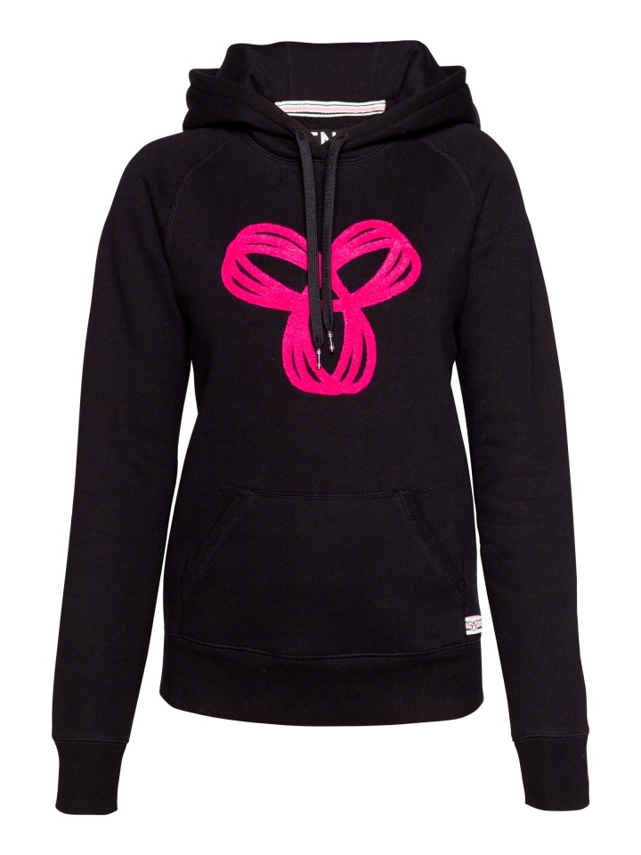 TNA Pullover Hoodie with Chenille Spiro