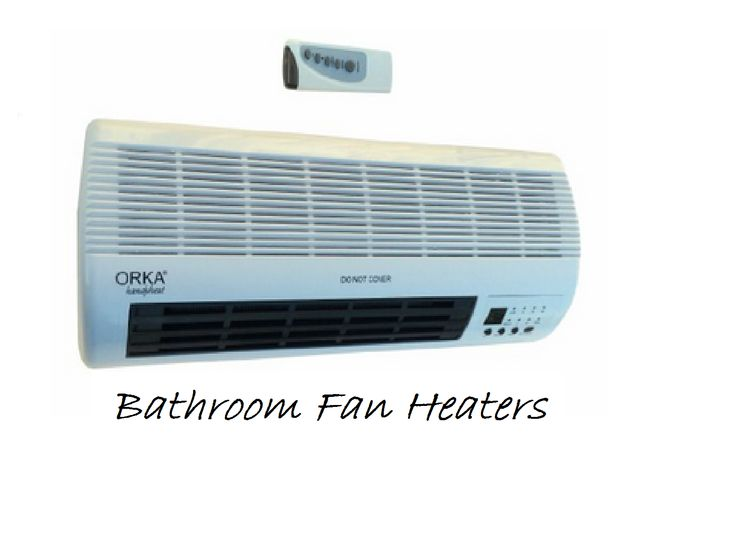 There Is Great Advantage Of Using Bathroom Fan Heater In Bathroom Area In  Cold Weather.