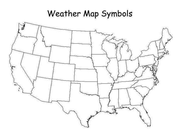 Reading Weather Maps Worksheets Sharebrowse – Weather Map Symbols Worksheet