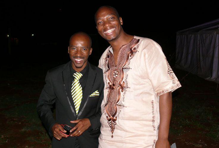 Pastor Eugene Mosalla and Evangelist Samuel Murrombe.