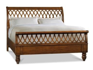 Shop for Hooker Furniture Lattice Sleigh Bed 5 0 Queen