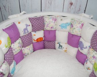 Parachoques de la cuna bebé ropa de cama cuna para bebé