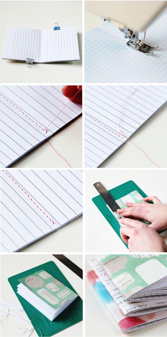 Ideas para que tus libretas te conviertan en la sensación del regreso a clases