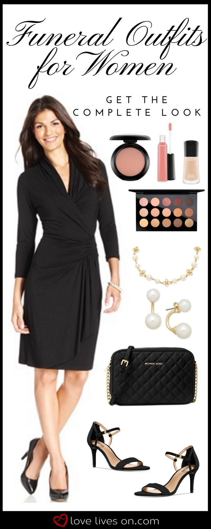 Appropriate Funeral Outfits for Women. Click to use our complete online shopping guide to appropriate funeral attire & shop this full look. Funeral Outfits for Women | What to Wear to a Funeral | Women's Funeral Attire | Appropriate Funeral Outfits, Funeral Clothes